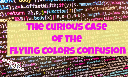 The Curious Case of the Flying Colors Confusion