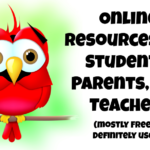 Online Resources for UDT Parents, Students, and Teachers